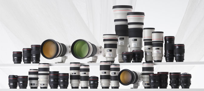 The Advantage of interchangeable lenses